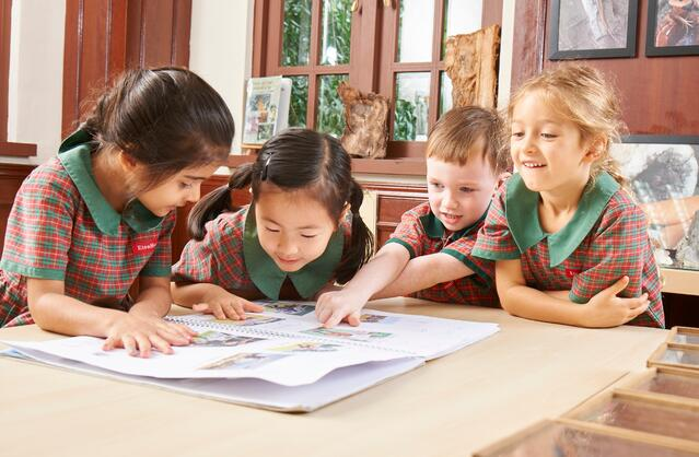 EtonHouse offers an inquiry-based curriculum where children learn through exploration