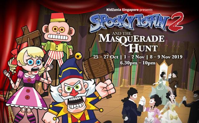 spookyTown kidzania singapore